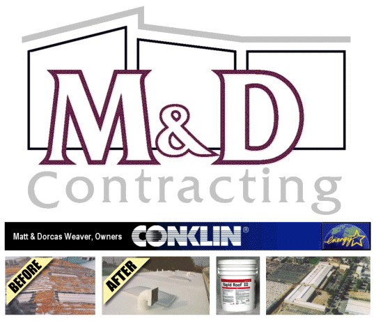 M and D Contracting Systems - Energy Efficient Cool Roofs