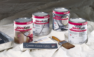ShowKote exterior painted walls